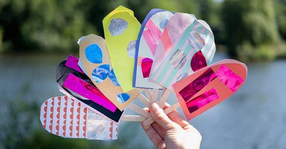 DIY: Eis Einladungen Für Den Kindergeburtstag
