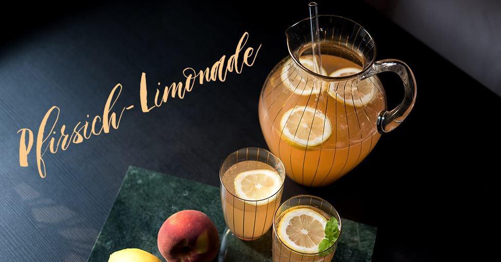 pfirsich limonade selber machen pola i entdecke das familienmagazin f r eltern und kind aus. Black Bedroom Furniture Sets. Home Design Ideas